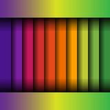 物质设计镶边背景 eps10开花橙色模式缝制的rac ric缝的镶边修整向量墙纸黄色 图库摄影
