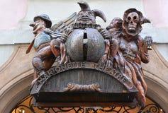 牵线木偶剧院在布拉格 库存图片
