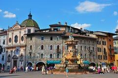特伦托老镇,意大利 免版税图库摄影