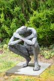 特伦顿, NJ - 2017年6月17日:内部第5隔离地面的莎朗Loper雕塑的 免版税库存图片
