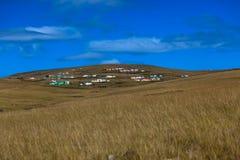 特兰斯凯非洲风景横向 库存照片