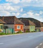 特兰西瓦尼亚村庄,罗马尼亚 免版税库存图片