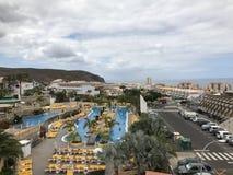 特内里费岛的美丽的旅馆 免版税库存图片