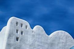 特内里费岛,白色大厦摘要  库存图片