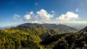特内里费岛海岛Anaga自然公园  股票录像
