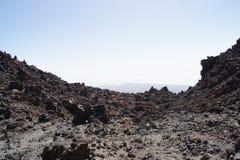 特内里费岛火星月亮加那利群岛 图库摄影