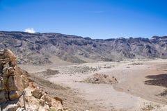 特内里费岛的泰德峰 免版税图库摄影