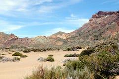 特内里费岛的(西班牙) El泰德峰国家公园 库存照片