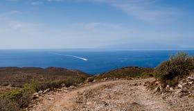 特内里费岛美丽如画的风景  免版税库存照片