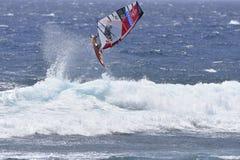 特内里费岛8月11日:冲浪的PWA, 2017年8月11日特内里费岛 库存图片