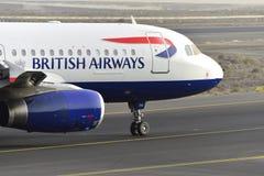 特内里费岛7月17日:对土地的飞机 2017年7月17日,特内里费岛金丝雀 库存图片