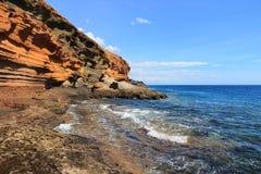 特内里费岛- Costa del Silencio 图库摄影