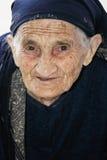 特写镜头前辈妇女 免版税库存图片