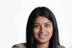 特写镜头印地安人妇女 免版税库存图片