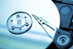 特写镜头困难的磁盘驱动器 库存照片