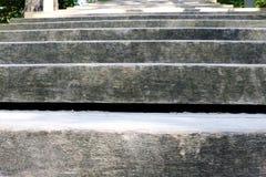 特写镜头木台阶背景 免版税库存图片