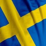特写镜头标志瑞典 库存照片