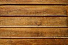 特写镜头棕色木纹理 抽象背景,空的模板 墙壁由木板条做成 土气样式墙纸 库存照片
