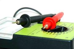 特写镜头电压表 免版税库存图片