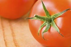 特写镜头蕃茄 免版税图库摄影
