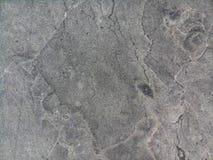 特写镜头表面灰色或黑大理石石头 免版税图库摄影
