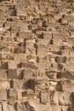 特写镜头金字塔 图库摄影