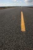 特写镜头高速公路路面 免版税库存照片