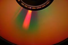 特写镜头dvd 免版税库存图片