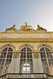 特写镜头gloriette维也纳 免版税库存照片