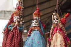 特写镜头印度玩偶 库存图片