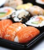 特写镜头寿司 免版税库存照片