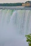 特写镜头-尼亚加拉瀑布 库存照片