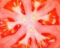 特写镜头新鲜的自然蕃茄 免版税图库摄影