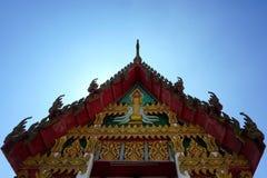 特写镜头泰国佛教寺庙006 图库摄影