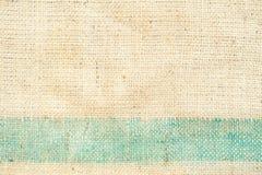 特写镜头老麻袋布纹理 免版税库存图片