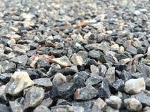 特写镜头自然石岩石 免版税库存照片