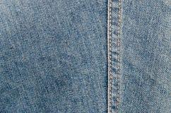 特写镜头详细的牛仔裤 免版税库存照片