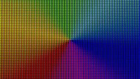 特写镜头LED从计算机显示器屏幕的电灯泡二极管 免版税图库摄影