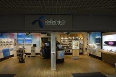特利亚和TELENOR决定合并一 免版税库存图片