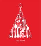 特别圣诞节菜单 免版税库存图片