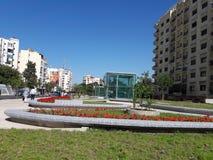 特别地方En古西班牙公园 库存照片