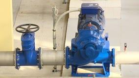 特别引擎、阀门和管道 生物气一代设备 E 影视素材