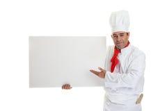 特别的厨师 免版税库存图片