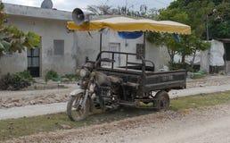 特别老摩托车运输在Mexco 免版税库存图片