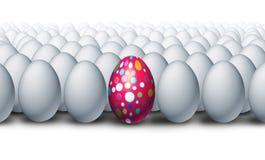特别装饰的鸡蛋 库存图片