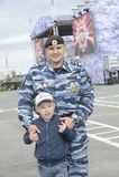 特别警察OMON 库存图片