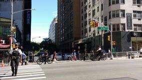 特勤局特工,警察, NYC, NY,美国 免版税库存照片
