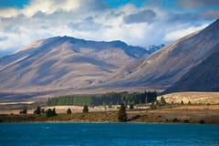 特卡波湖,新西兰 图库摄影