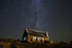 特卡波湖,新西兰 免版税图库摄影