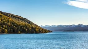 特卡波湖 库存图片